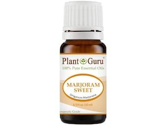 Marjoram Sweet Essential Oil  100% Pure, Undiluted, Therapeutic Grade.