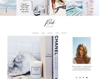 Bondi Blog + Shop WordPress Theme // Responsive Mobile Friendly Web Design Kit