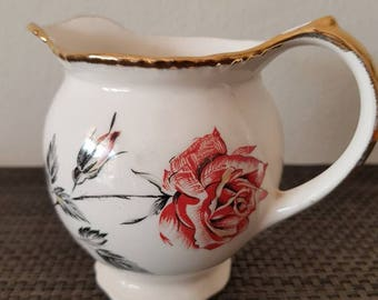Large Woods&Sons English Porcelain Milk Jug in lovely condition