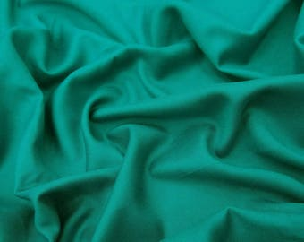 """Green Rayon Fabric, Handmade, Ethnic Fabric, Clothing Fabric, Sewing Accessories, 43"""" Inch Fabric By The Yard PZBR5F"""