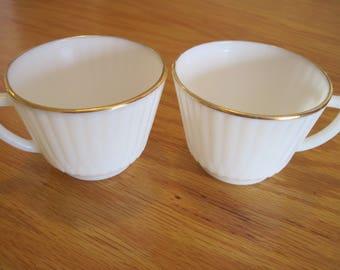 Macbeth-Evans Petalware Monax Cups - Item #1504