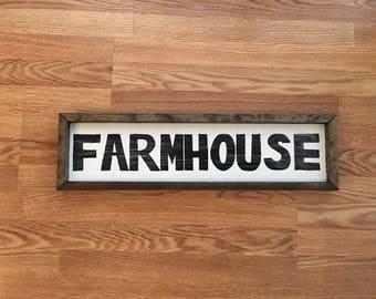 Farmhouse Signs, Farmhouse Decor, Custom Sign, Signs for Home, Rustic Decor, Rustic Sign, Custom Rustic Sign, 1x6x24
