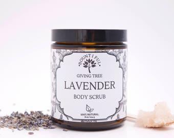 Lavender Sugar Scrub, Lip Scrub,Sugar Scrubs,Spa Gift,Spa Gifts,Acne Soap,Dry Skin,Organic Spa Gifts,Vegan Skincare,Exfoliating Scrub,Spa