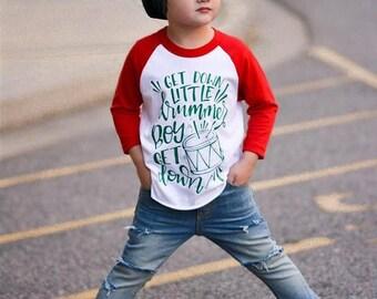 25% Off Christmas in July little drummer boy shirt, boy christmas raglan, baby boy, toddler boy, funny christmas shirt, xmas shirt, outfit,