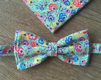 Bow tie + Pocket - Slavs Flowers