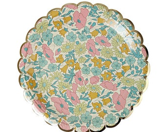 Meri Meri: Liberty Poppy & Daisy Small Plates