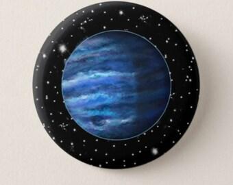 Glowing Neptune