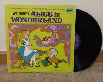 Disney Alice in Wonderland 33 record