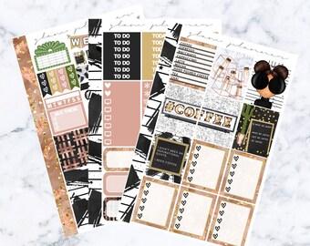 PRE-SALE! Barista Essentials Kit (Glam Planner Stickers for Erin Condren Life Planner)