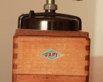 Antique coffee grinder Japy 1948 EX model Bakelite