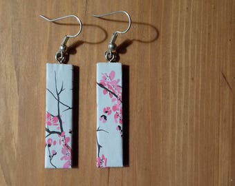 Cherry Blossom design earrings