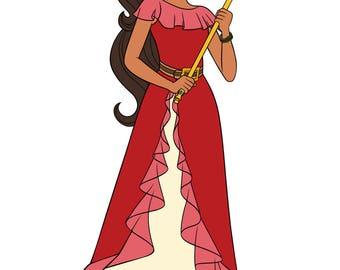 Elena - Elena of Avalor - Disney Junior - svg file