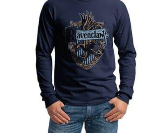 Ravenc Crest #2 Color on Longsleeve MEN tee T-shirt