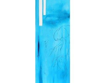 Jellyfish - Acrylic Painting on Canvas