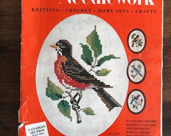 McCalls Needlework and Crafts Magazine, Spring - Summer, 1956, Vintage