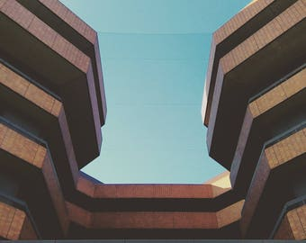 Architecture Photography, Architecture Print, Architecture Decor, Architecture Art, Brutalism Print, Brutalism Art, Brutalism Photography