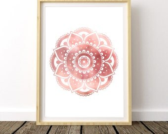 Yoga Studio Decor, Yoga Bedroom Decor, Trending Item, Yoga Artwork, Gypsy Decor, Bohemian Gypsy Decor, Boho Chic Wall Decor, Most Popular