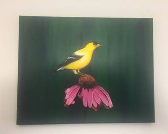 Bird Painting 50% off (originally 90 USD)
