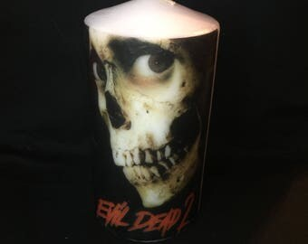 Evil Dead 2 Candle