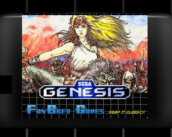 "SPECIAL ORDER! ""Dahna English Translation"" Unreleased Sega Genesis Platformer!"
