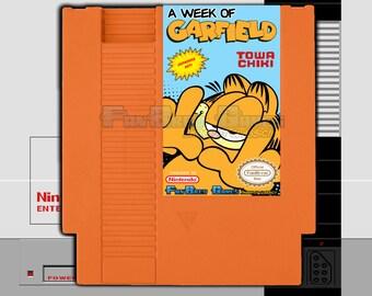 "SPECIAL ORDER! ""A Week Of Garfield"" Unreleased Nintendo NES Action Platformer!"
