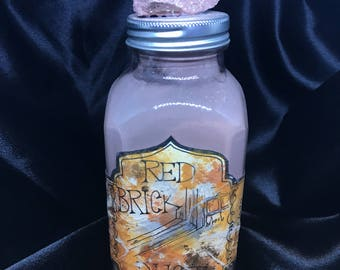 Red Brick Dust -Apothecary bottle