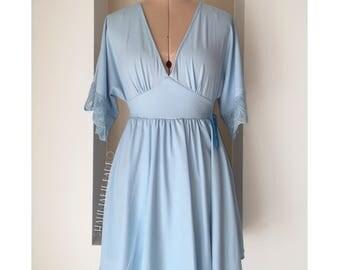 BLUE LIGHT DRESS