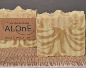 Orange and Oatmilk Vegan Soap Bar