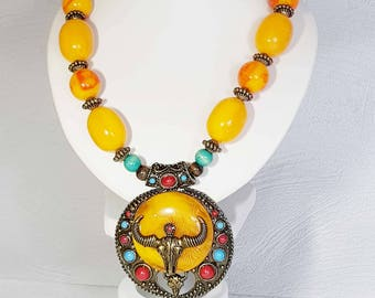 "Ethnic necklace with "" Celte""  inspiration"