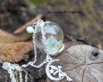 Magical aquamarine necklace