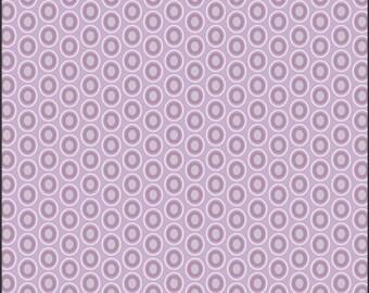 Oval Elements - Amethyst - 100% Premium Cotton (Art Gallery Fabrics OE-930)