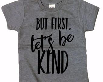 LETS BE KIND shirt