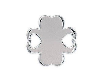 Sterling Silver clover connector