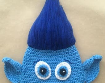 Crochet Branch Troll Hat- All sizes, different styles!