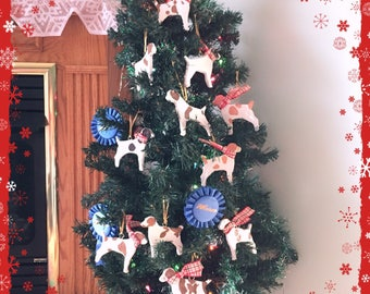 Custom Brittany Ornament