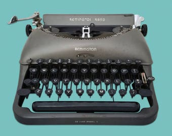 Remington Deluxe Model 5 Typewriter