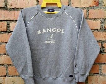 OFF 15% Rare!!! Kangol Pullover Sweatshirt