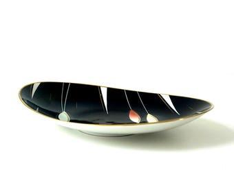 Vintage 1950's Weimar Porcelain - Serving Dish / Plate / Platter - GDR Porcelain - German Pottery - Mid Century