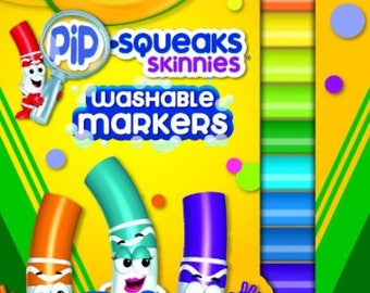 Crayola Pip-Squeaks Washable Markers 16 Count