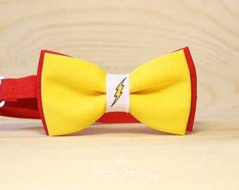 Flash DC Comics marvel bowtie bow - tie