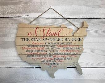 I Stand-Star Spangled Bnner
