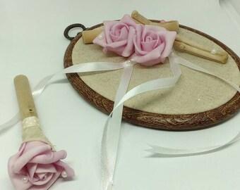 Romantic ring bearer