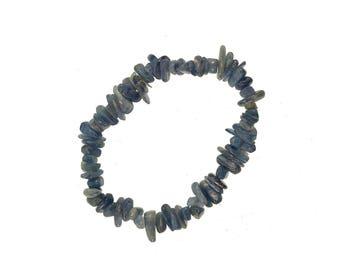 Kyanite Chips stretch Bracelet