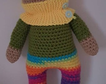 amigurumi doll, soft toy, stuffed toy,