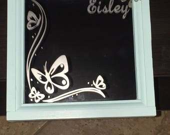 Personalize Etched Mirror