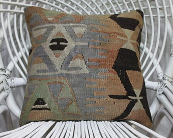 16x16 kelim kussen rectangular cushion pillow crochet cushions seat cushions pillow case handmade 16x16 victorian geometric cushion 3397