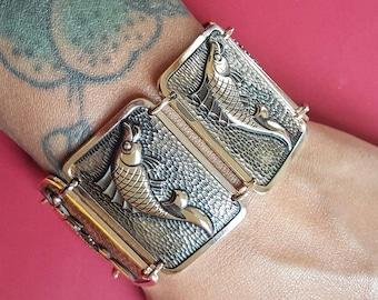 Vintage Fish novelty bracelet - more colours