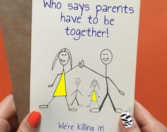 Co parent card / Father's day card / Birthday card