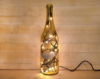 Gratitude Wine Bottle Light Shaking Hands Finger Lakes Wine Recycled Wine Bottle & Recycled lighting | Etsy azcodes.com