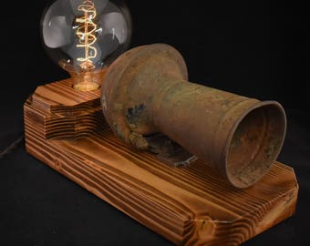 The 'Aaoogha' Model-T Horn Touch Lamp